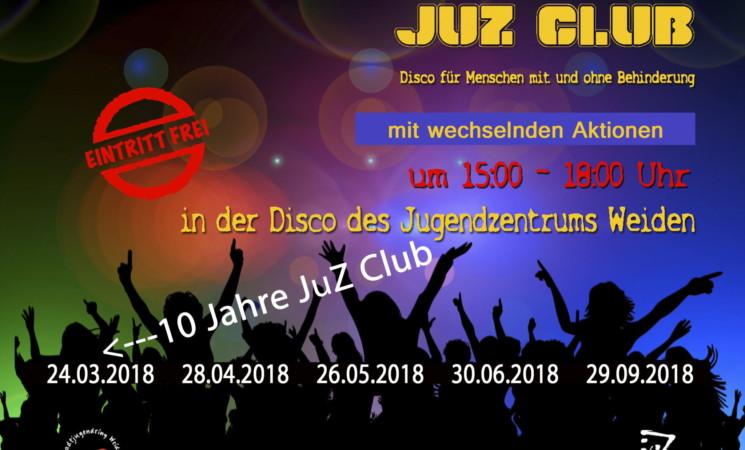 Der JuZ-Club: Disco für Menschen mit und ohne Behinderung