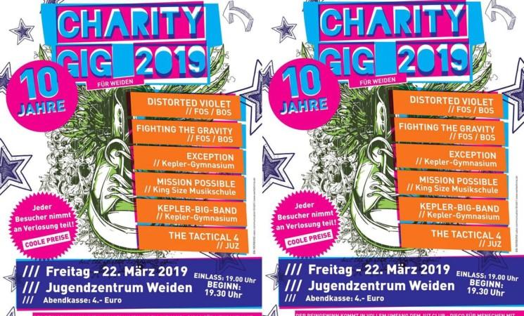 Charity Gig am 22.03. im JuZ!
