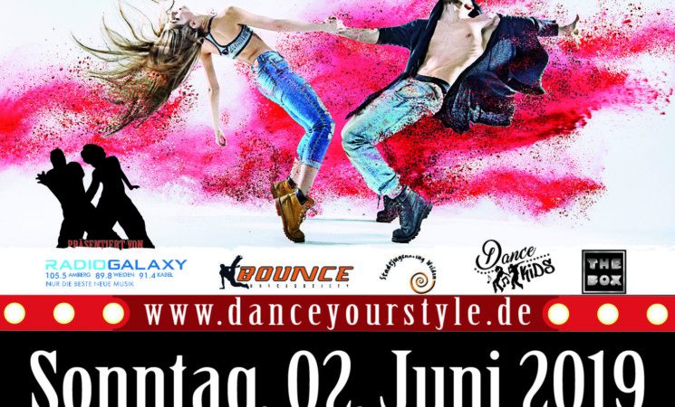 Dance Your Style Contest am 02.06.19 in Weiden