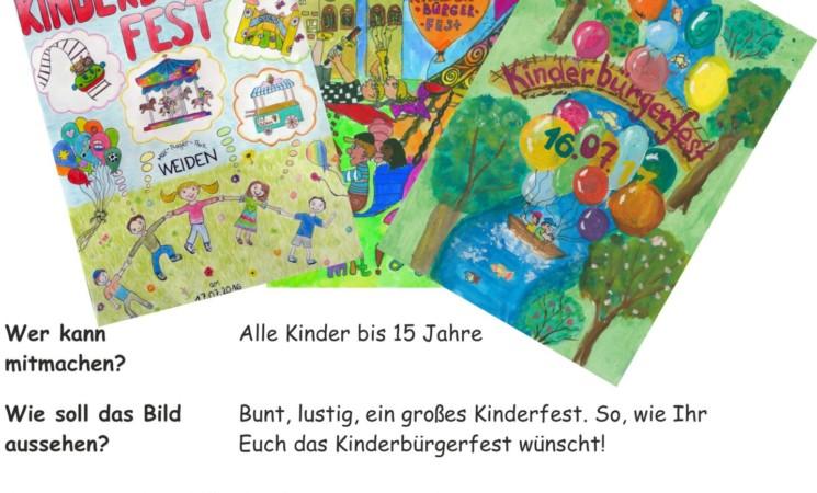 Malwettbewerb für Kinderbürgerfest